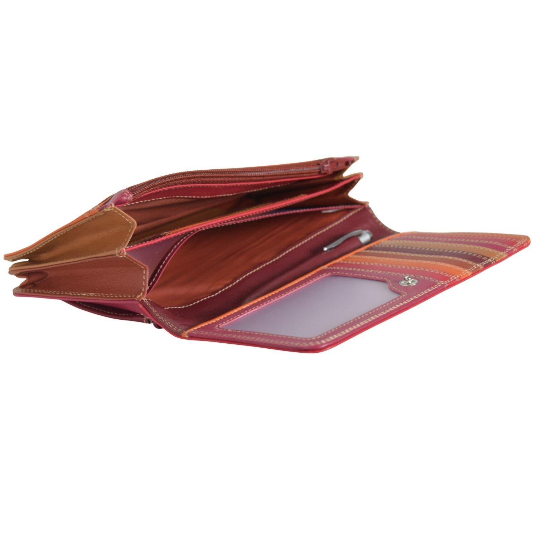 Medium Matinee Wallet Geldbörse Leder 17 cm